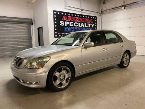 2005 Lexus LS 430 for sale at Arizona Specialty Motors in Tempe AZ