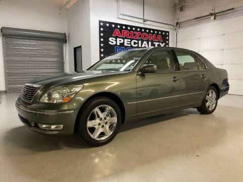 2004 Lexus LS 430 for sale at Arizona Specialty Motors in Tempe AZ