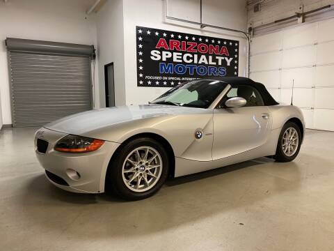 2003 BMW Z4 for sale at Arizona Specialty Motors in Tempe AZ