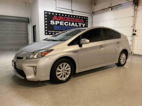 2014 Toyota Prius Plug-in Hybrid for sale at Arizona Specialty Motors in Tempe AZ