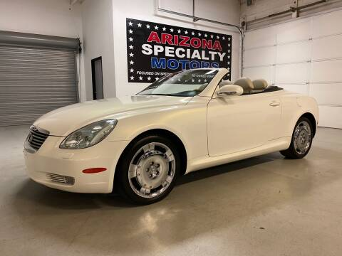 2003 Lexus SC 430 for sale at Arizona Specialty Motors in Tempe AZ