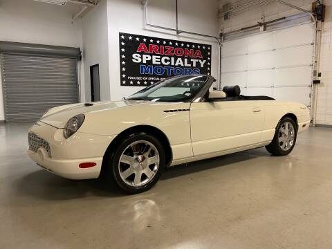 2002 Ford Thunderbird for sale at Arizona Specialty Motors in Tempe AZ