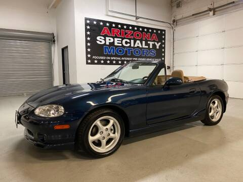 2000 Mazda MX-5 Miata for sale at Arizona Specialty Motors in Tempe AZ