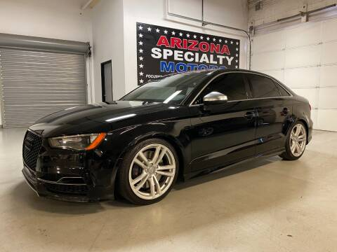 2016 Audi S3 for sale at Arizona Specialty Motors in Tempe AZ