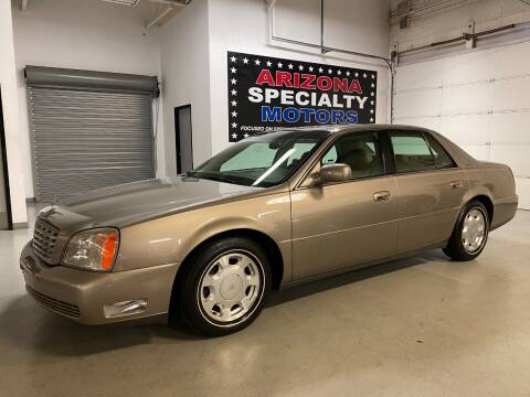 2000 Cadillac DeVille for sale at Arizona Specialty Motors in Tempe AZ