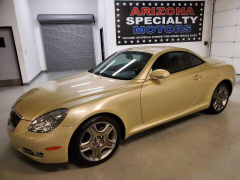 2007 Lexus SC 430 for sale at Arizona Specialty Motors in Tempe AZ