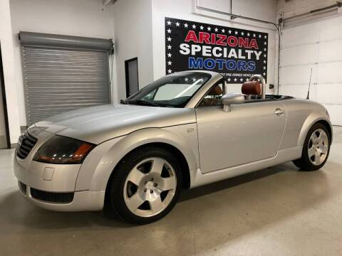 2002 Audi TT for sale at Arizona Specialty Motors in Tempe AZ