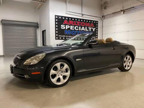 2008 Lexus SC 430 for sale at Arizona Specialty Motors in Tempe AZ