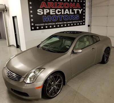 2006 Infiniti G35 for sale at Arizona Specialty Motors in Tempe AZ