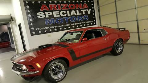 1970 Ford Mustang Boss 302 for sale in Tempe, AZ