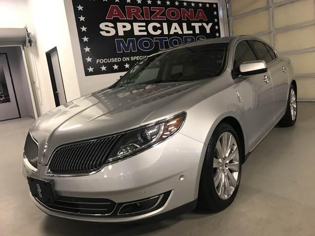 2013 Lincoln MKS for sale at Arizona Specialty Motors in Tempe AZ