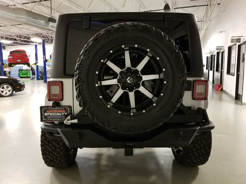 2014 Jeep Wrangler Unlimited for sale at Arizona Specialty Motors in Tempe AZ