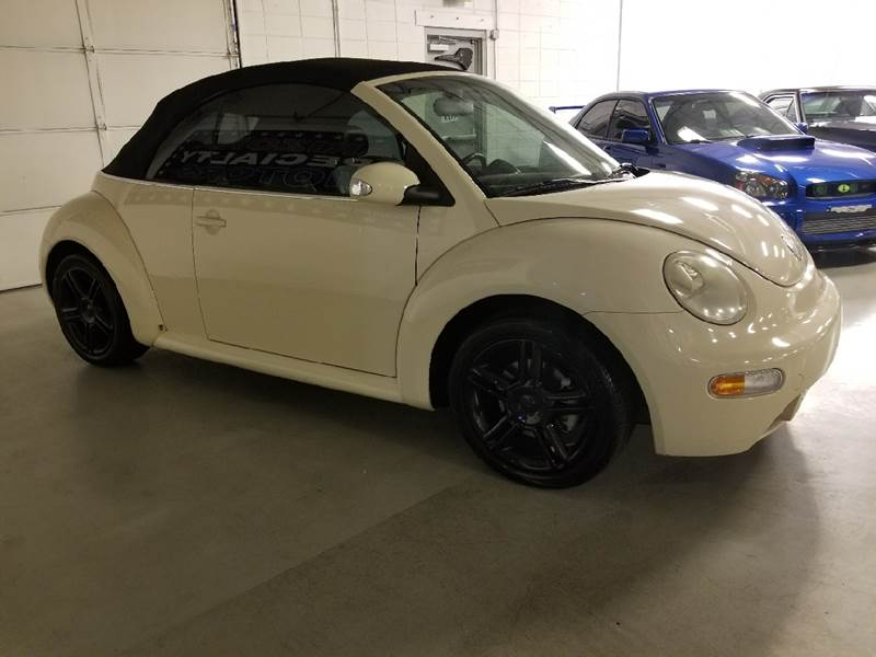 2004 Volkswagen New Beetle for sale at Arizona Specialty Motors in Tempe AZ