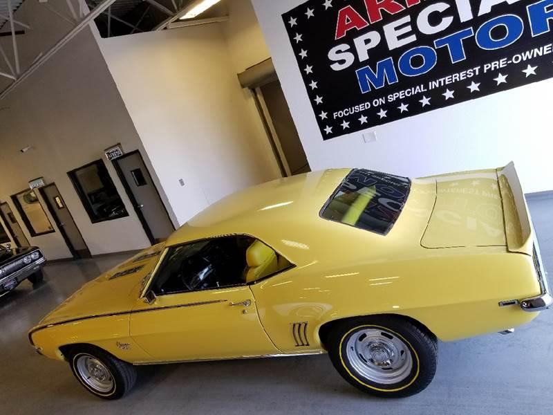 1969 Chevrolet Camaro for sale at Arizona Specialty Motors in Tempe AZ