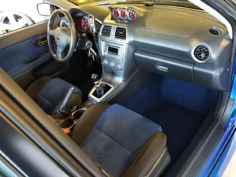 2006 Subaru Impreza AWD WRX STI 4dr Sedan w/Gold-Painted Wheels - Tempe AZ