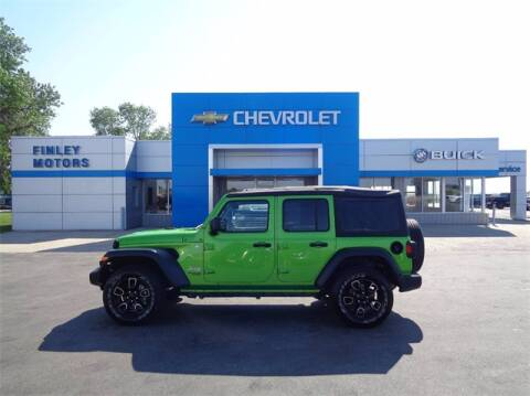 2018 Jeep Wrangler Unlimited for sale at Finley Motors in Finley ND