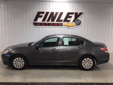 2009 Honda Accord for sale at Finley Motors in Finley ND