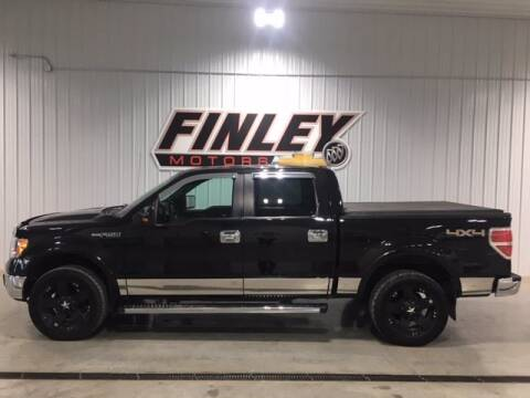 2012 Ford F-150 for sale at Finley Motors in Finley ND