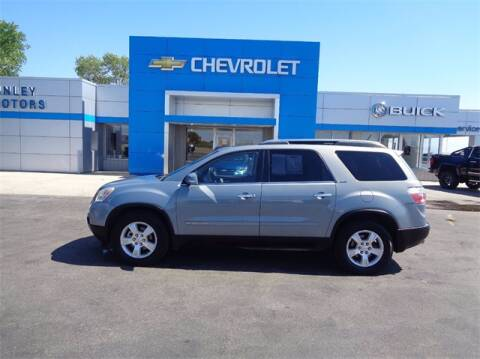 2008 GMC Acadia for sale at Finley Motors in Finley ND