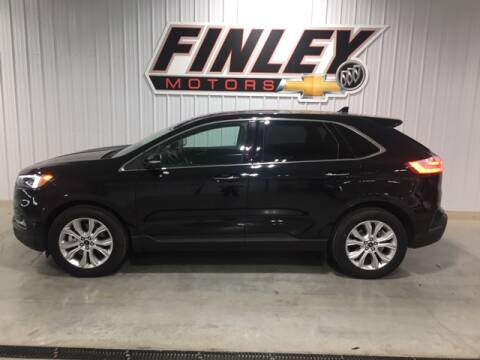 2020 Ford Edge for sale at Finley Motors in Finley ND
