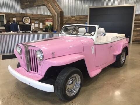1950 Willys Jeepster for sale at Finley Motors in Finley ND