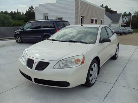 2009 Pontiac G6 for sale in Dillonvale, OH