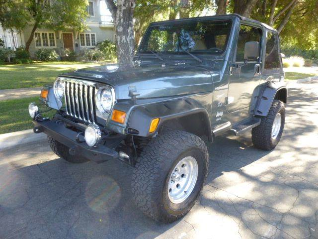 2002 Jeep Wrangler for sale at Altadena Auto Center in Altadena CA