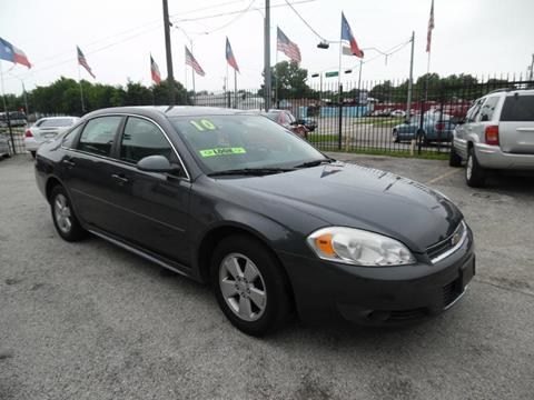 2010 Chevrolet Impala for sale in Houston TX