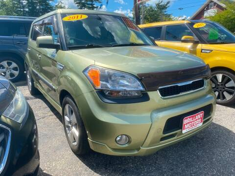 2011 Kia Soul for sale at Brilliant Motors in Topsham ME