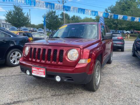 2015 Jeep Patriot for sale at Brilliant Motors in Topsham ME