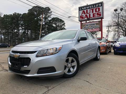 2015 Chevrolet Malibu for sale at Carafello's Auto Sales in Norfolk VA
