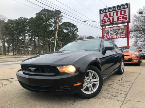 2011 Ford Mustang for sale at Carafello's Auto Sales in Norfolk VA