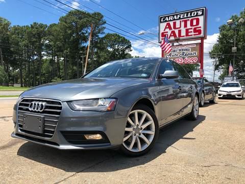2013 Audi A4 for sale at Carafello's Auto Sales in Norfolk VA
