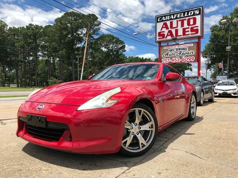2009 Nissan 370Z for sale at Carafello's Auto Sales in Norfolk VA