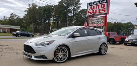 2013 Ford Focus for sale at Carafello's Auto Sales in Norfolk VA