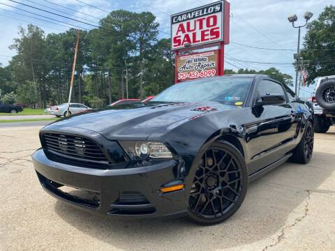 2014 Ford Mustang for sale at Carafello's Auto Sales in Norfolk VA