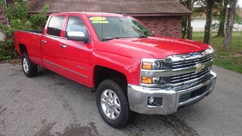 2015 Chevrolet Silverado 2500HD for sale at Elite Auto Sales in Herrin IL