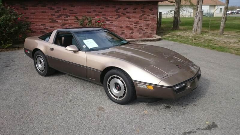 1984 Chevrolet Corvette for sale at Elite Auto Sales in Herrin IL