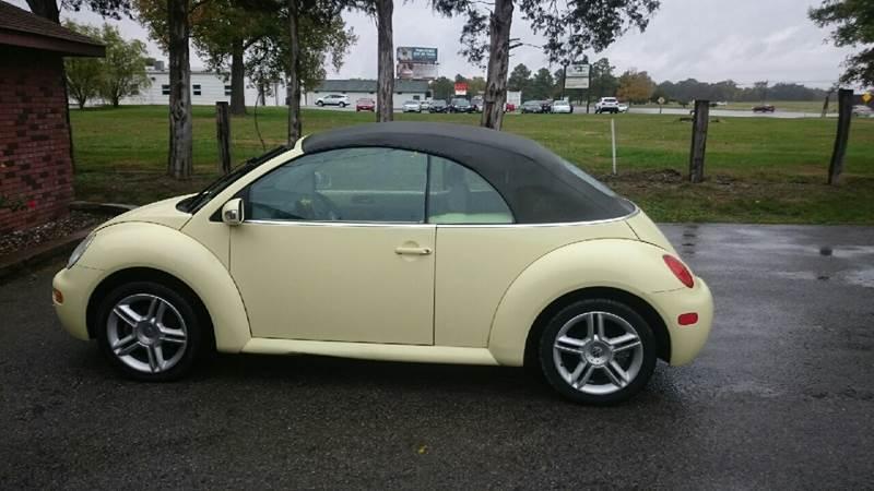 2005 Volkswagen New Beetle 2dr Gls 18t Turbo Convertible In Herrin