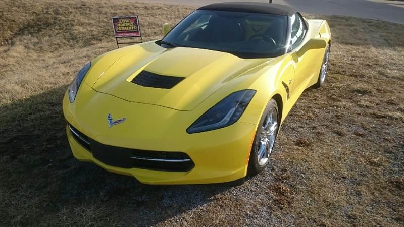2017 Chevrolet Corvette Stingray 2dr Convertible w/3LT In