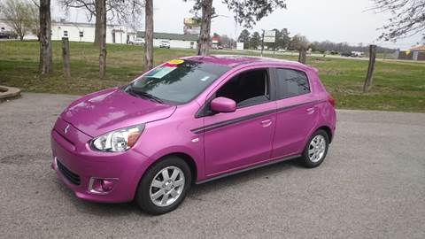 2014 Mitsubishi Mirage for sale at Elite Auto Sales in Herrin IL