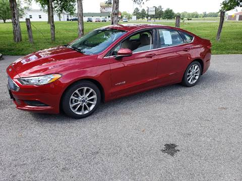 2017 Ford Fusion Hybrid for sale at Elite Auto Sales in Herrin IL