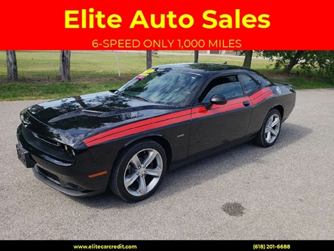 2016 Dodge Challenger for sale at Elite Auto Sales in Herrin IL