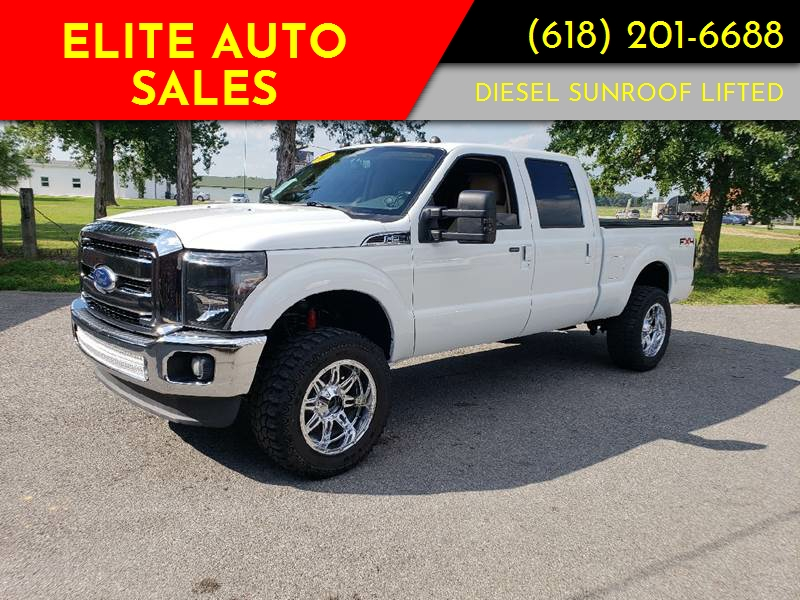 2011 Ford F-250 Super Duty for sale at Elite Auto Sales in Herrin IL
