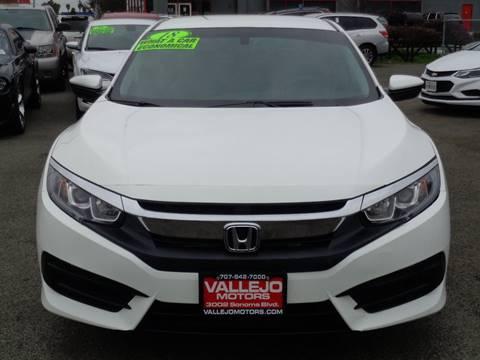 2018 Honda Civic for sale in Vallejo, CA