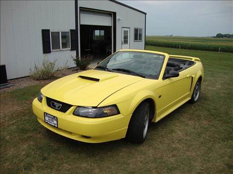 2001 Ford Mustang for sale at Ditsworth Auto Sales in Bancroft IA