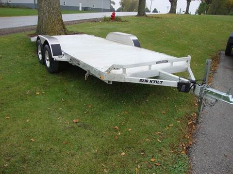 2021 Aluma 8218 Tilt for sale at Ditsworth Auto Sales in Bancroft IA
