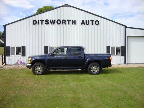 2007 GMC Canyon SLE for sale at Ditsworth Auto Sales in Bancroft IA