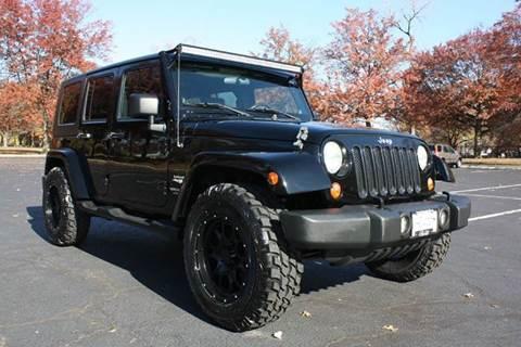 2007 Jeep Wrangler Unlimited for sale at Premier Automotive Group in Belleville NJ