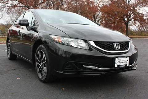 2013 Honda Civic for sale at Premier Automotive Group in Belleville NJ